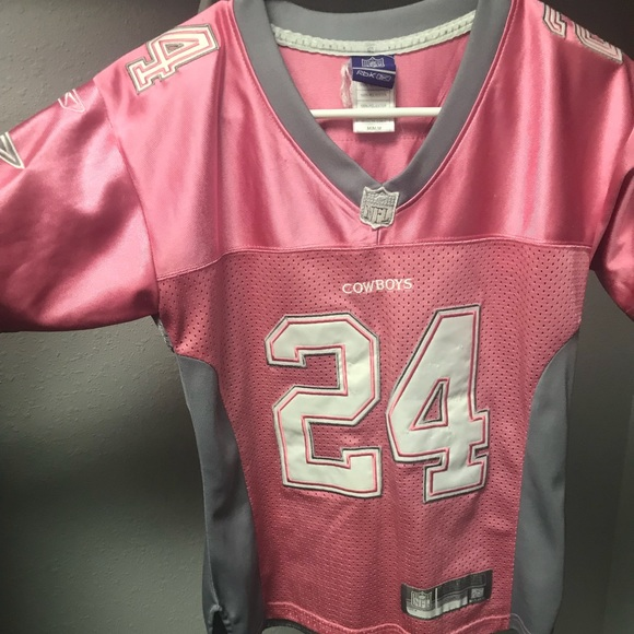best service 5e6b2 2ab77 pink cowboys jersey
